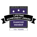 Harrisburg Magazine Lifetime Achievement Award Diamond Member